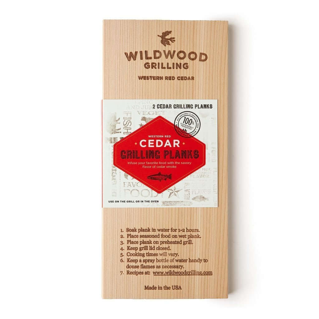Cedar Plank wood used for cooking salmon