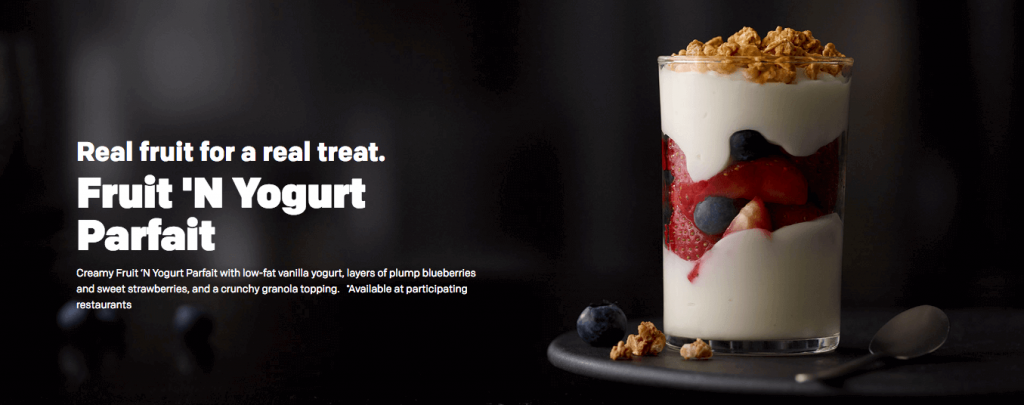 are yogurt parfaits healthy?