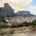 City of Kalabaka near Meteora and the best area to stay while exploring Meteora