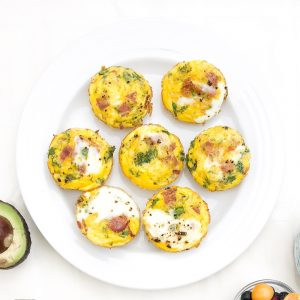 how to use your extra vegetables for an easy egg dish
