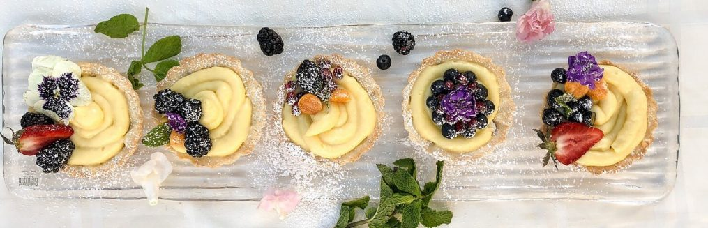royal custard tarts