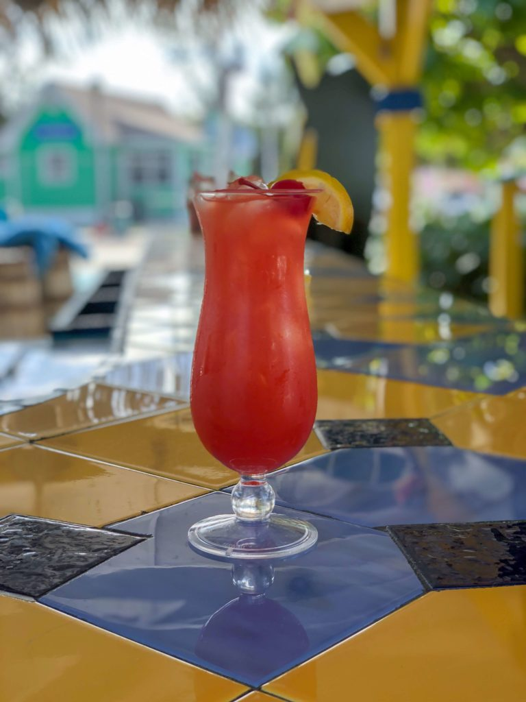 Bahama Mama alcoholic drink in Bahamas