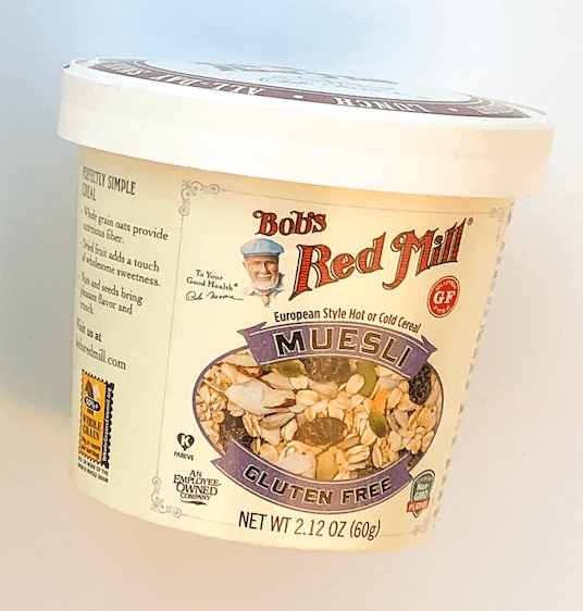 Bob's Red Mill Muesli single Cup